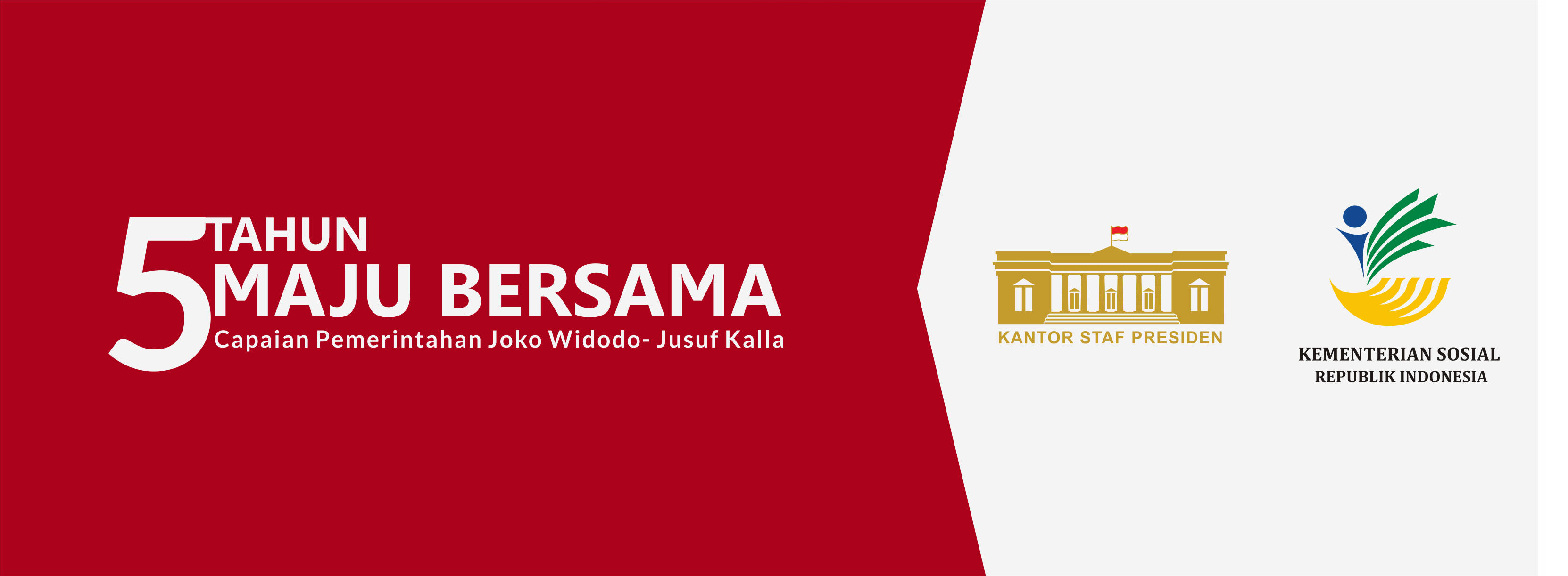 Laporan  5 Tahun Capaian Pemerintahan Joko Widodo - Jusuf Kalla