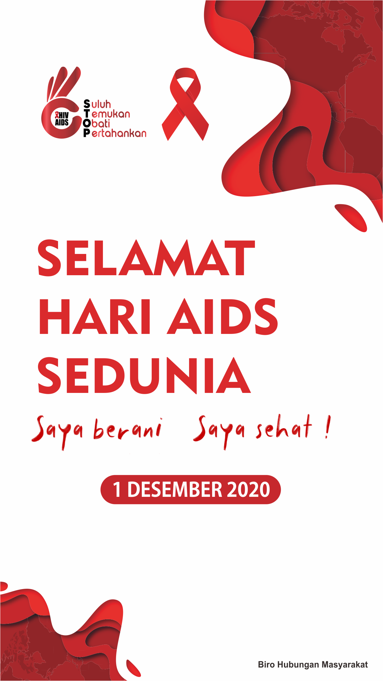 AIDS 2020 - SIDE BANNER