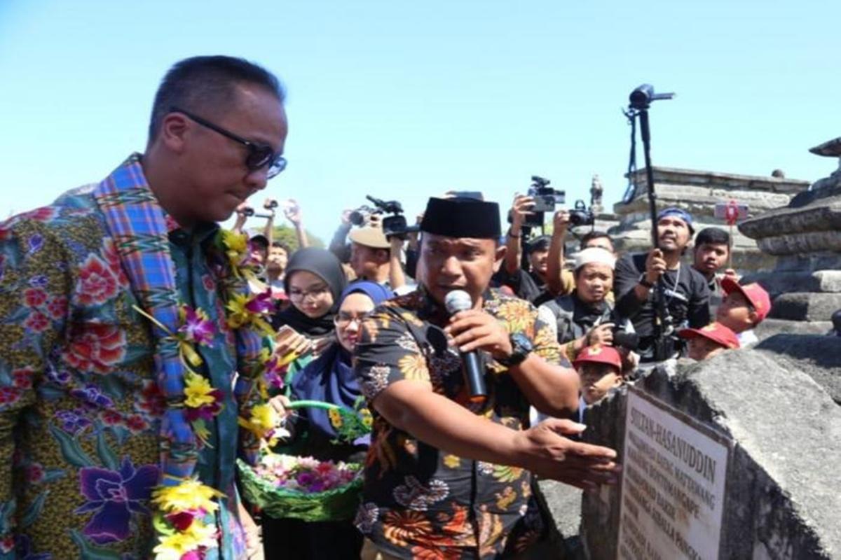 Kemensos Rehab Makam Pahlawan Nasional Sultan Hasanuddin