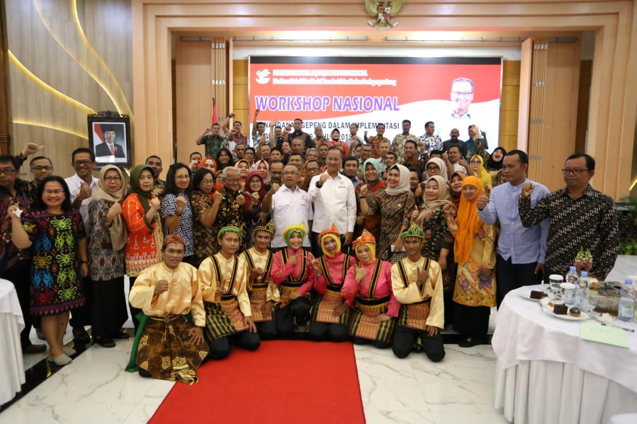 Mensos Buka Lokakarya Nasional Penanganan Gepeng