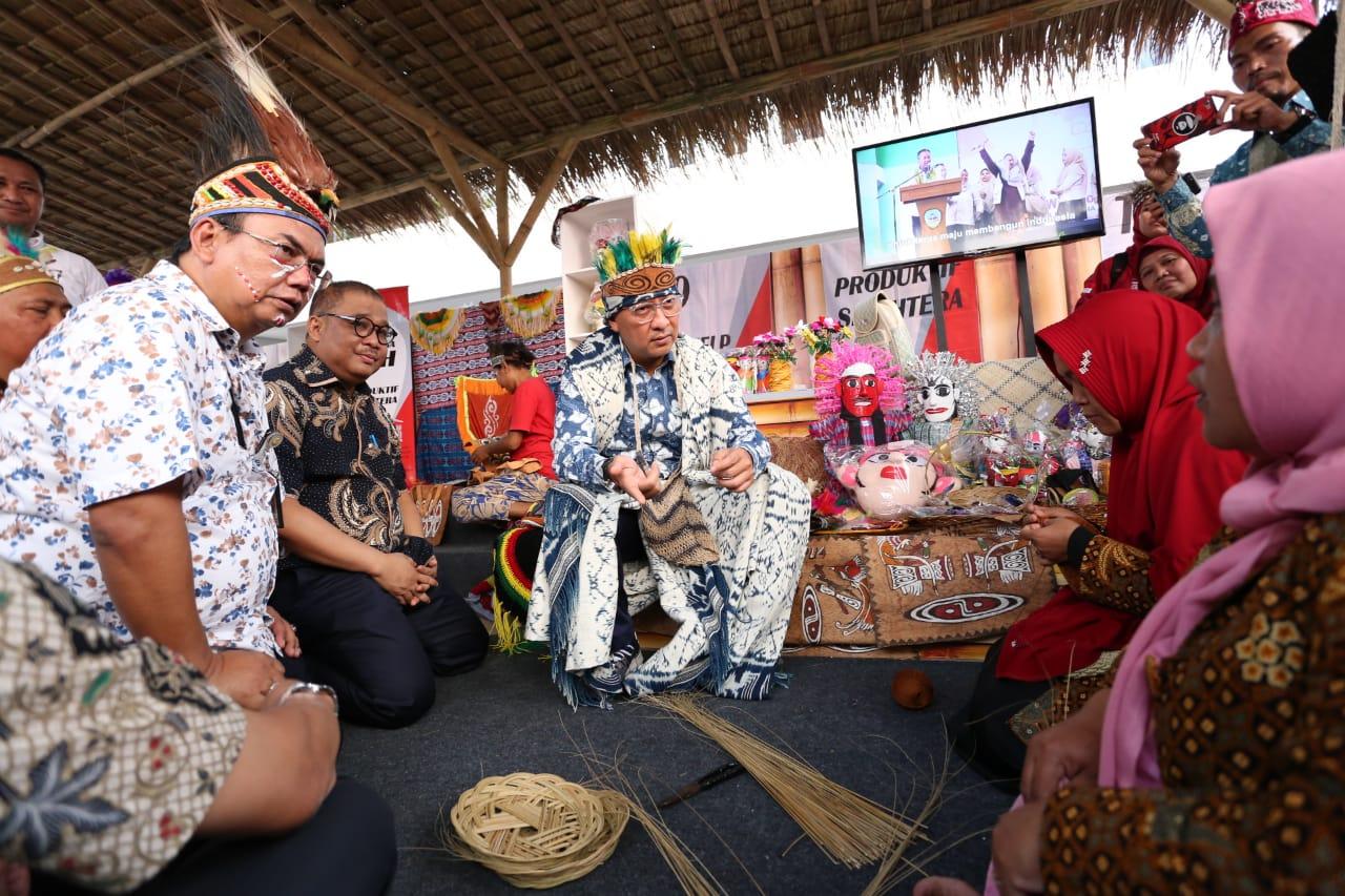 """Mensos Menghadiri Pasar Rakyat """"Menuju Indonesia Maju"""""""