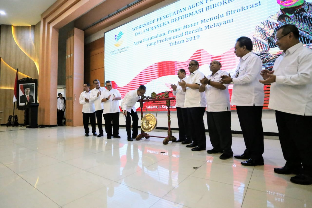 Lokakarya Penguatan Agen Perubahan dalam Rangka Reformasi Birokrasi