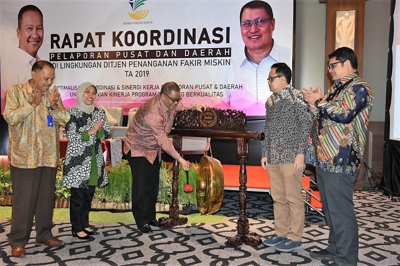 Rapat Koordinasi Pelaporan Pusat dan Daerah di Lingkungan Ditjen PFM 2019