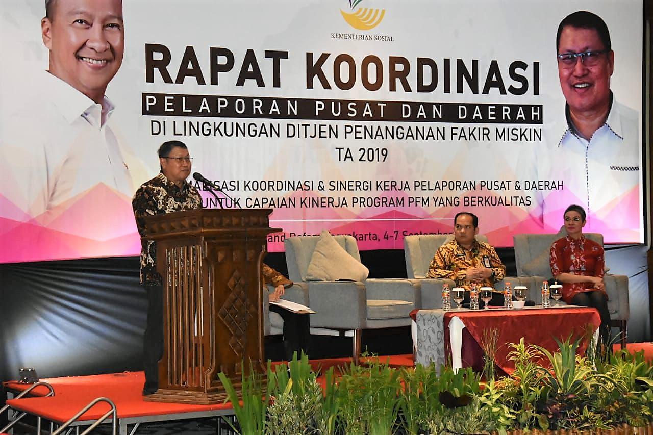 Rapat Koordinasi Pelaporan Pusat dan Daerah di Lingkungan Ditjen PFM