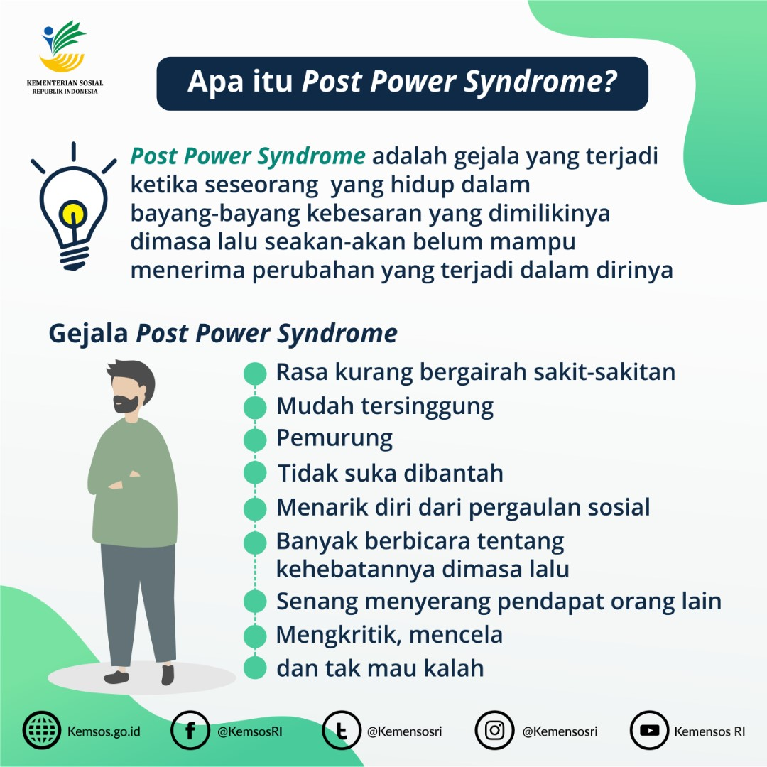 Menghadapi Post Power Syndrome