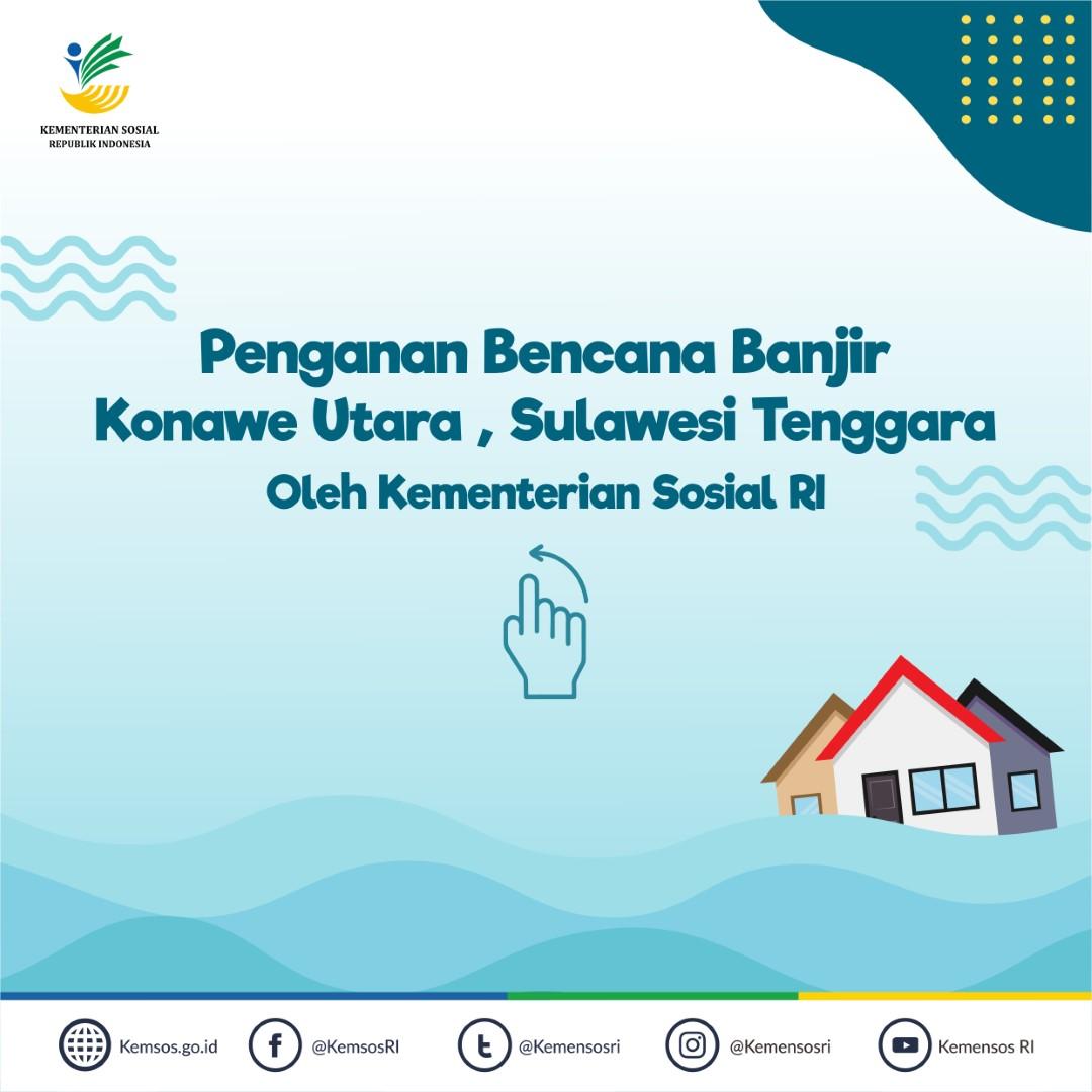 Penanganan Bencana Banjir Konawe Utara, Sulawesi Tenggara