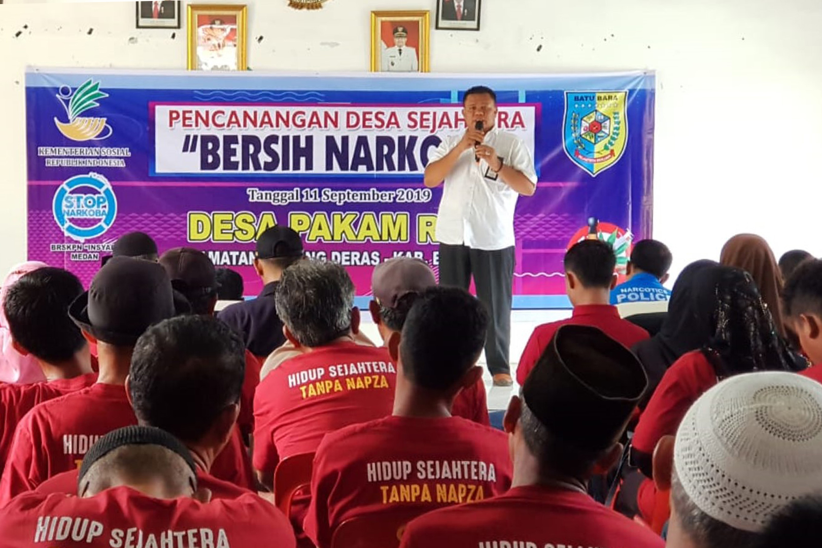 "BRSKPN ""Insyaf"" Inaugurates a Clean Drug Welfare Village"
