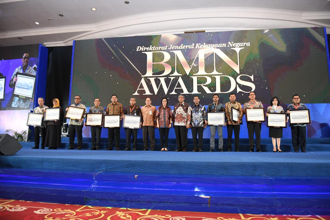 Kemensos Raih Penghargaan Pengelolaan BMN Terbaik Tingkat K/L