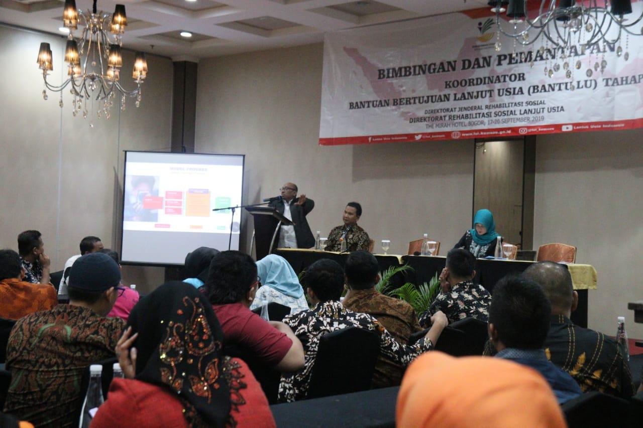 Bimtap Koordinator Bantuan Bertujuan Lanjut Usia (BanTu LU)