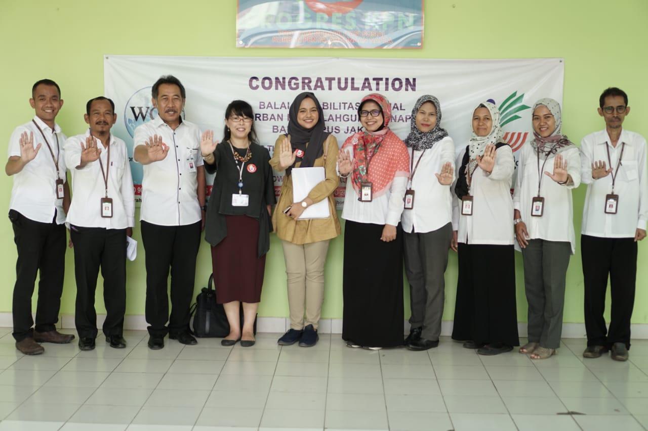 """Kemitraan BRSKPN """"Bambu Apus"""" dan JICA Indonesia"""