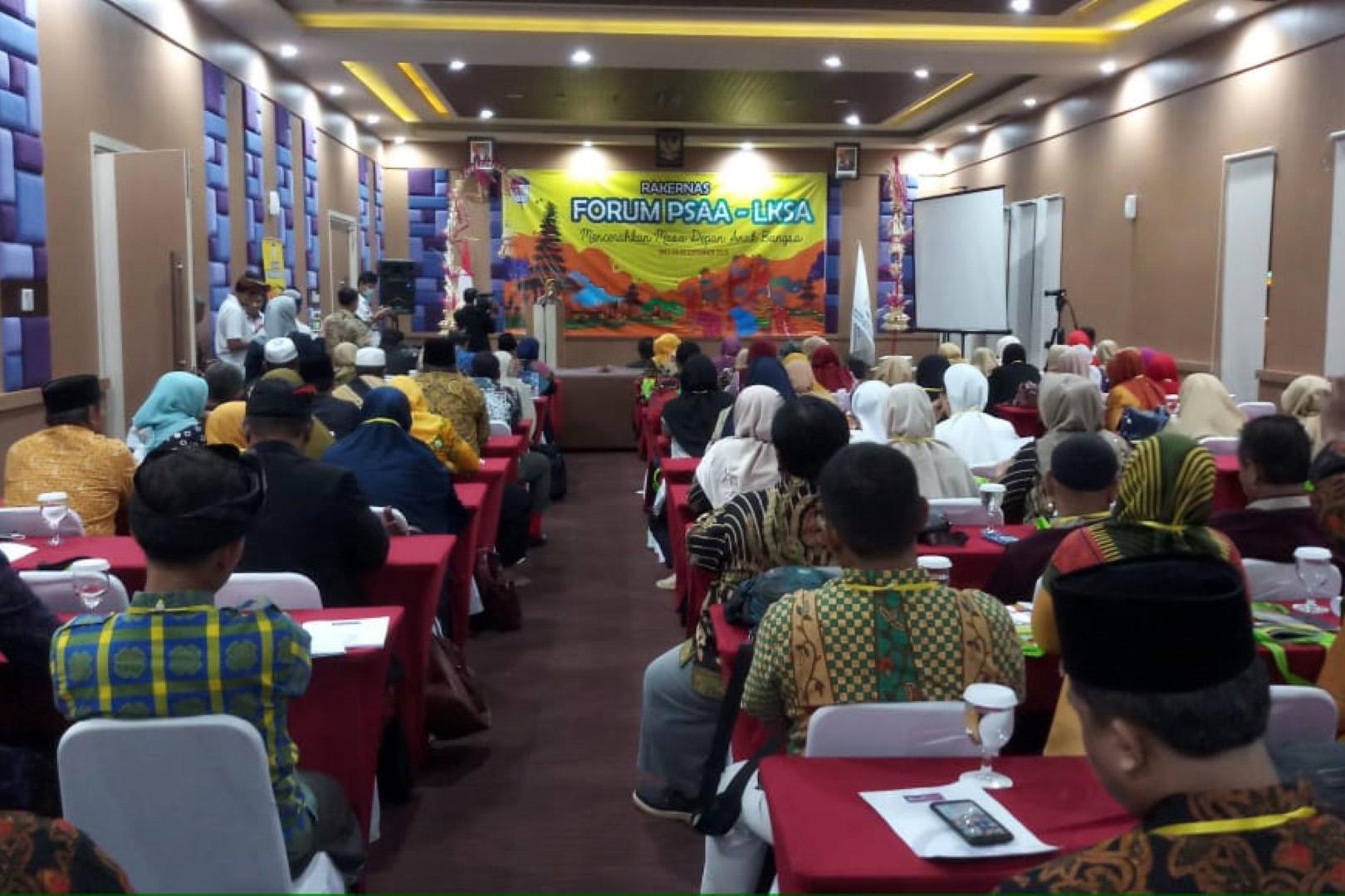 Rehsos Anak Gelar Rakernas Forum LKSA - PSAA Tahun 2019