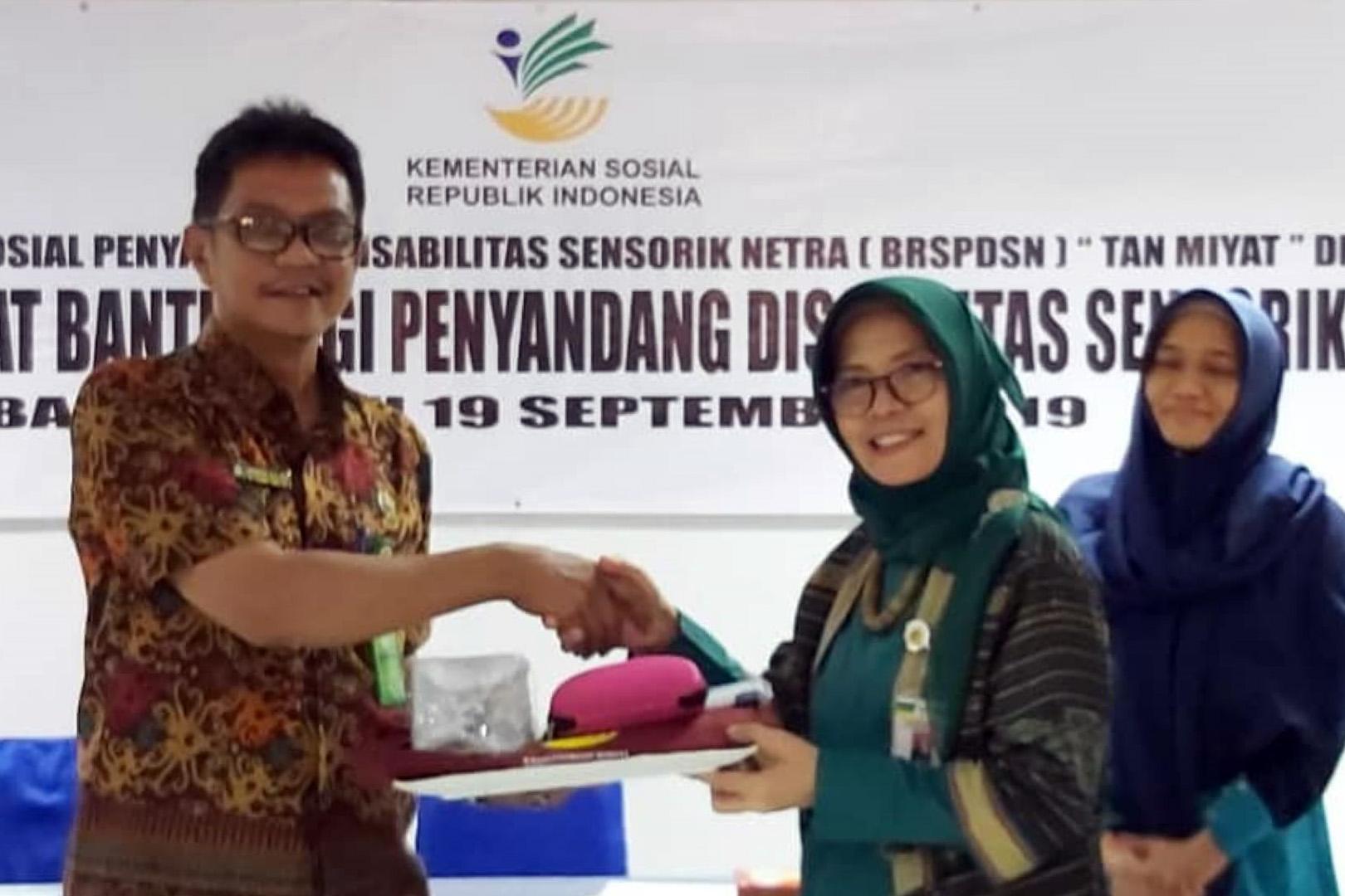 """BRSPDSN """"Tan Miyat"""" Serahkan 75 Paket Bantuan PDSN"""