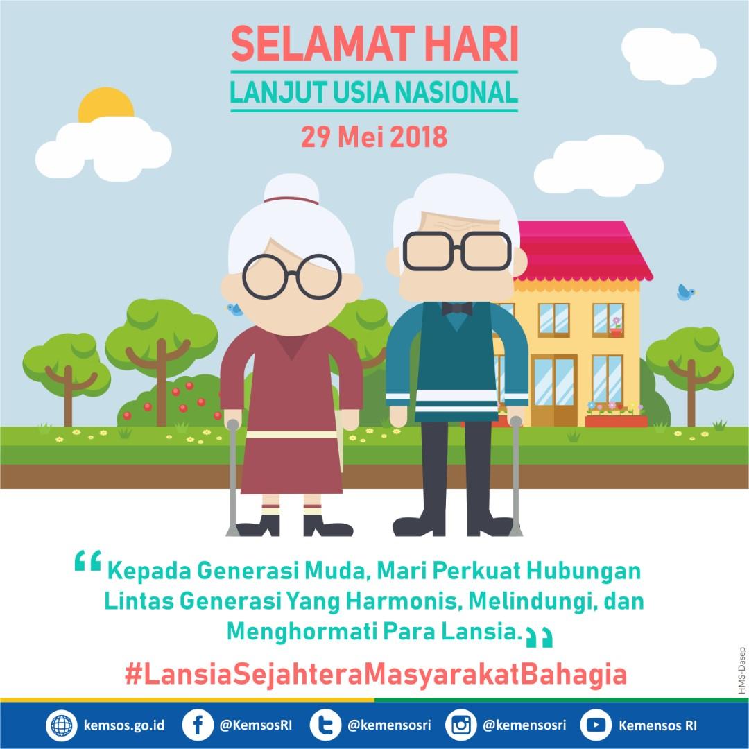 Hari Lanjut Usia Nasional 2018
