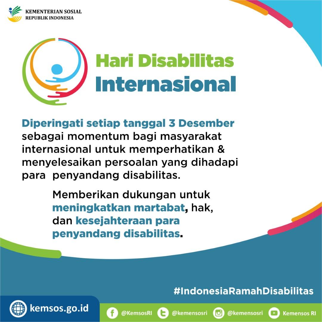 Hari Disabilitas Internasional 2018