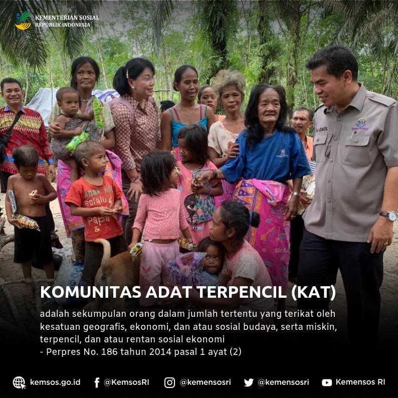 Komunitas Adat Terpencil (KAT)