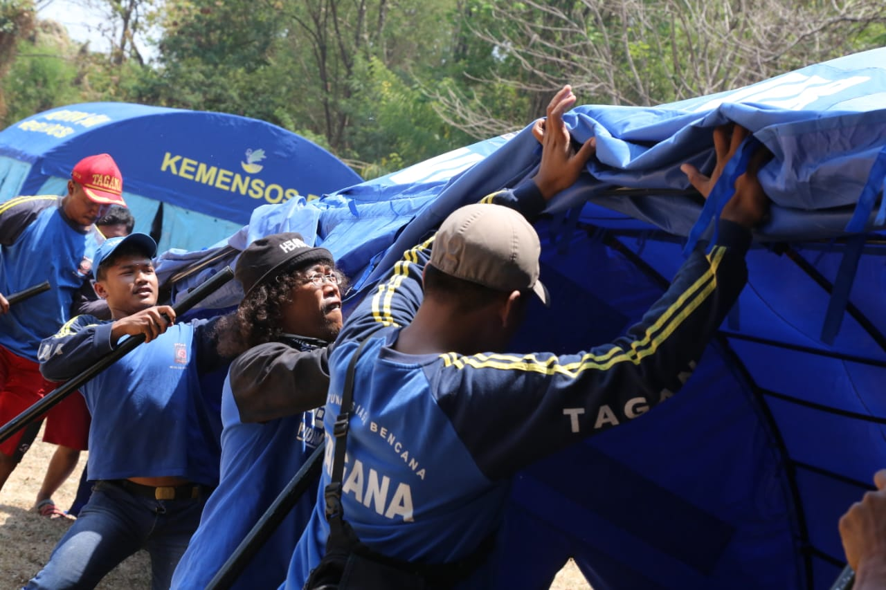 Jelang Jambore Tagana di Jawa Timur, Seluruh Persiapan Digeber