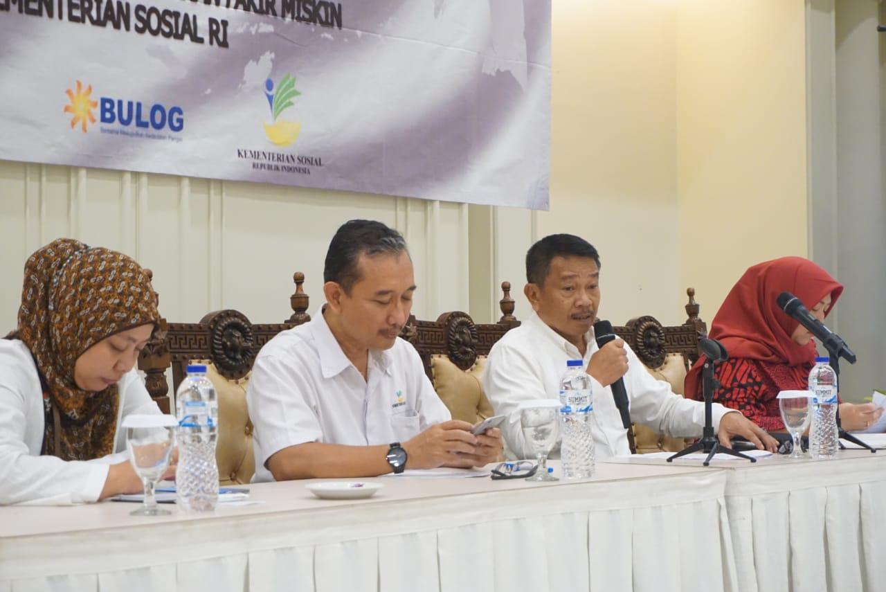 Evaluasi Bulanan Penyaluran Bansos Pangan Bersama Himbara dan Bulog