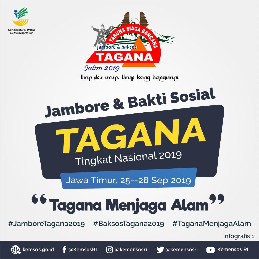 Jambore dan Bakti Sosial Tagana Tingkat Nasional 2019