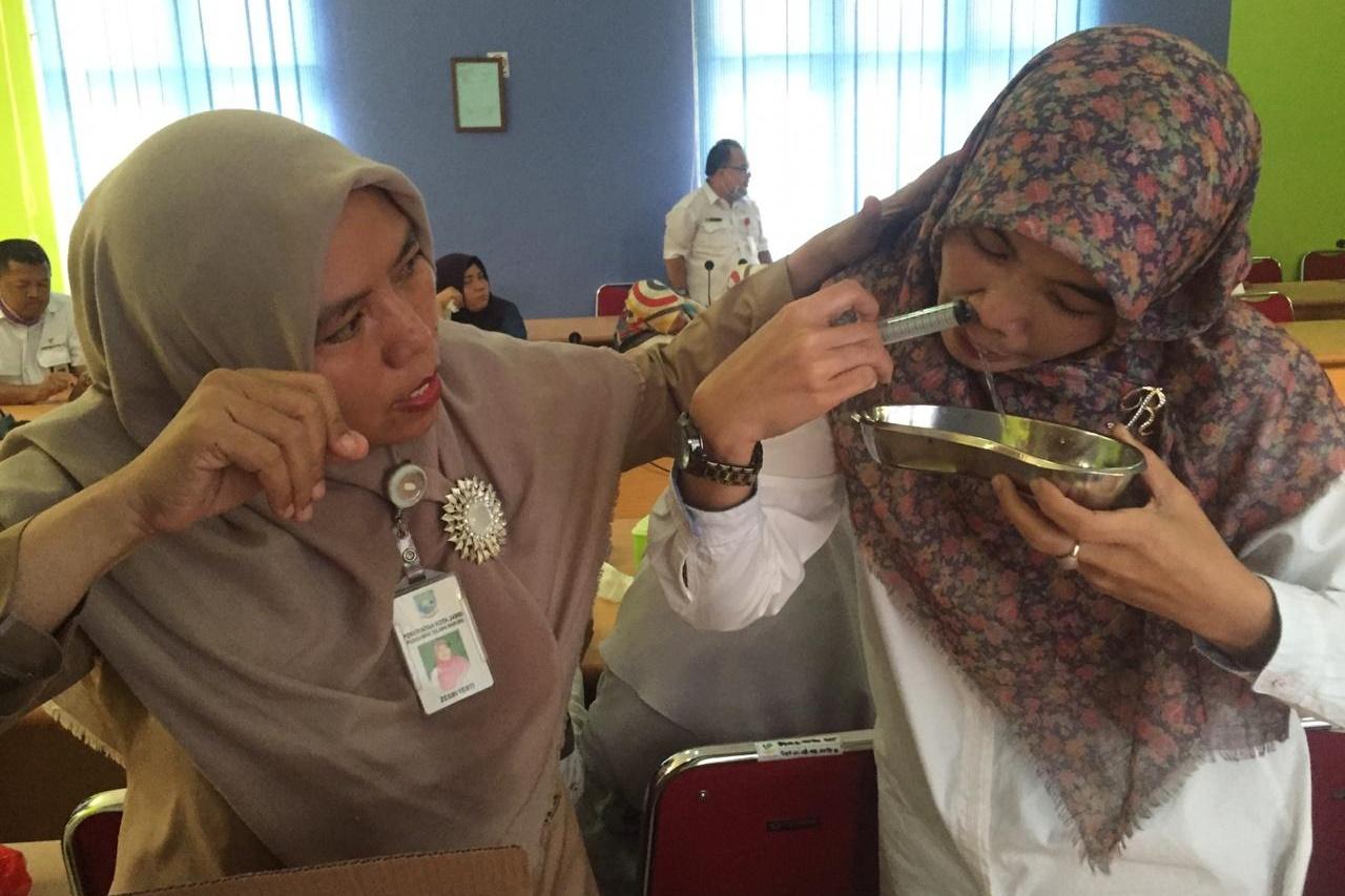 "Women's Association of BRSAMPK ""Alyatama"" Cooperates with Talang Bakung Health Center"