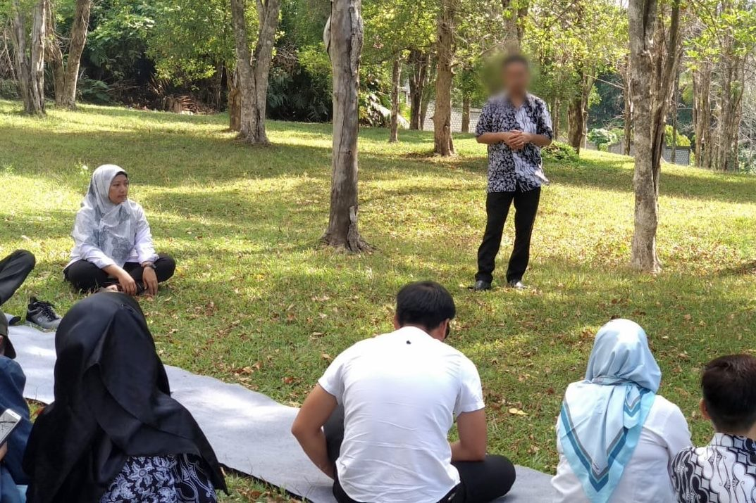 "BRSODHIV ""Wasana Bahagia"" Gives Psychosocial Therapy"