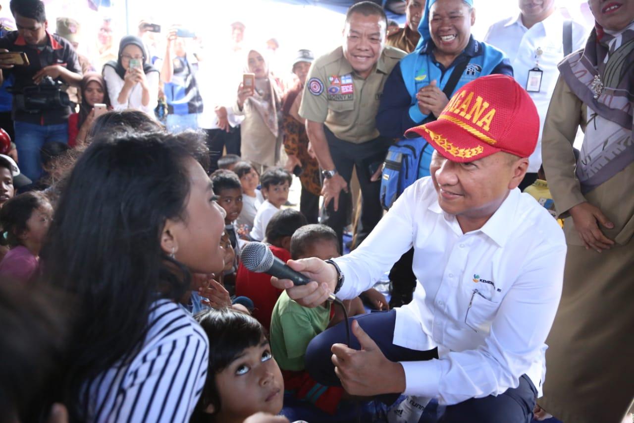 Mensos Kunjungi Maluku, Pastikan Kebutuhan Dasar