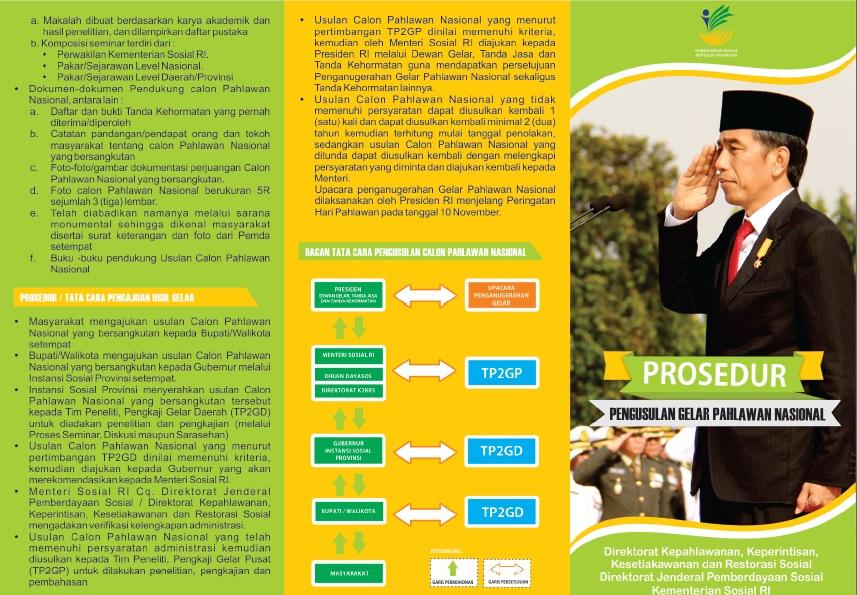 Leaflet Pahlawan