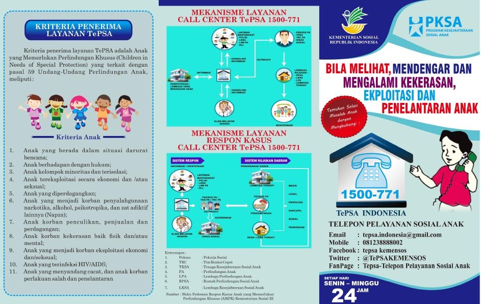 Leaflet Telepon Sahabat Anak