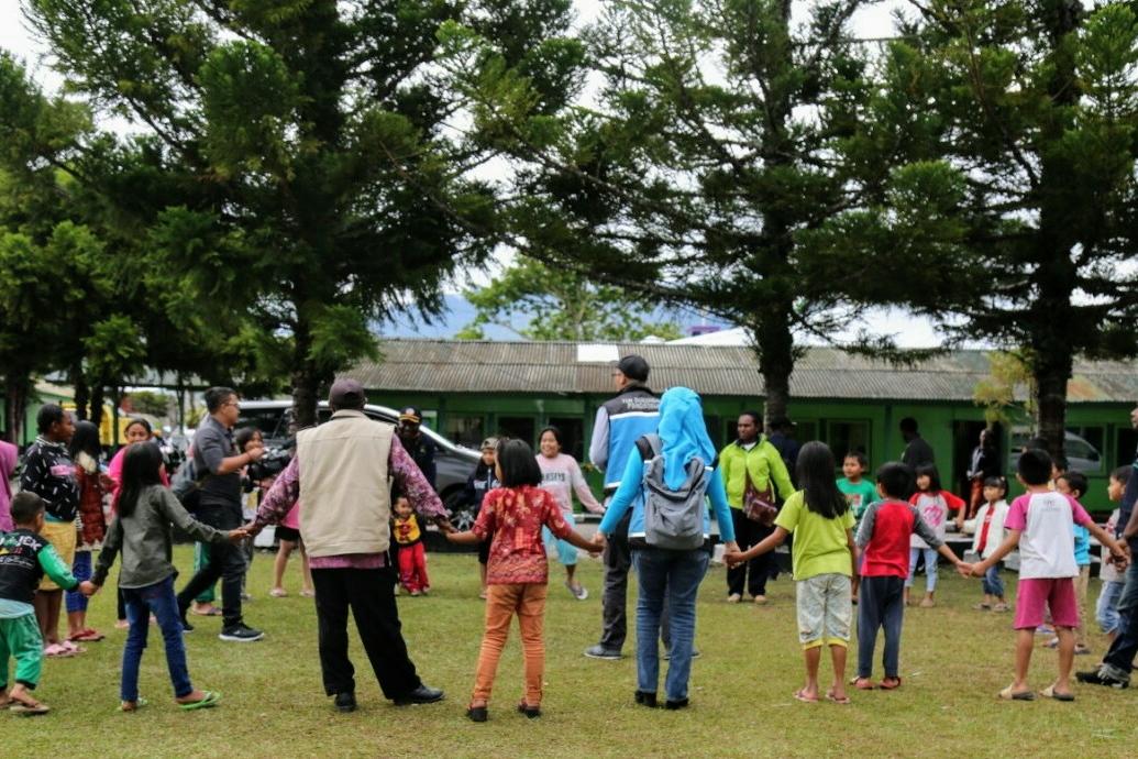 Tim LDP Kemensos Beri Pendampingan Pengungsi Wamena