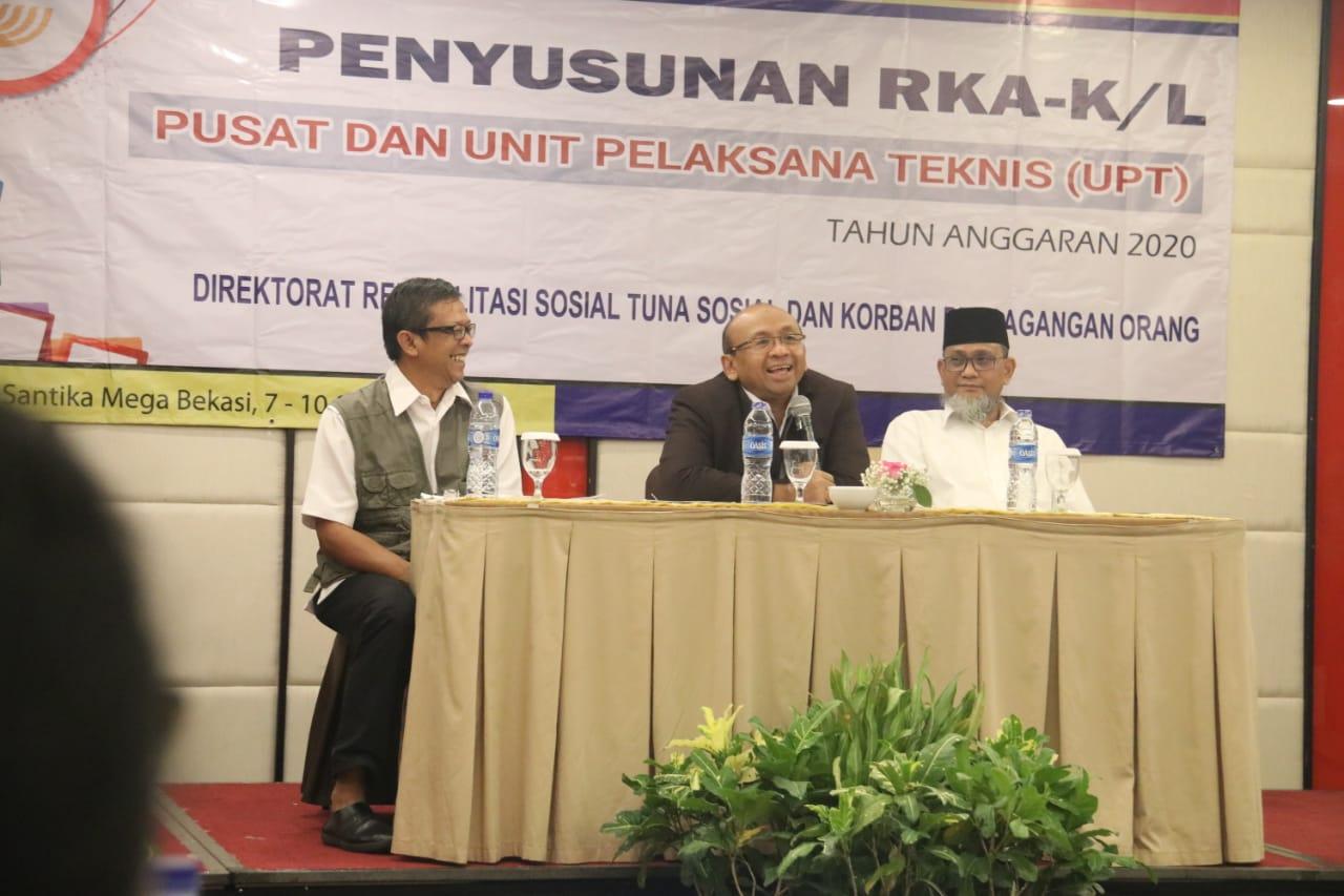 Dirjen Rehsos Harapkan Dimensi Progres 5.0 NP Termuat dalam RKA-K/L