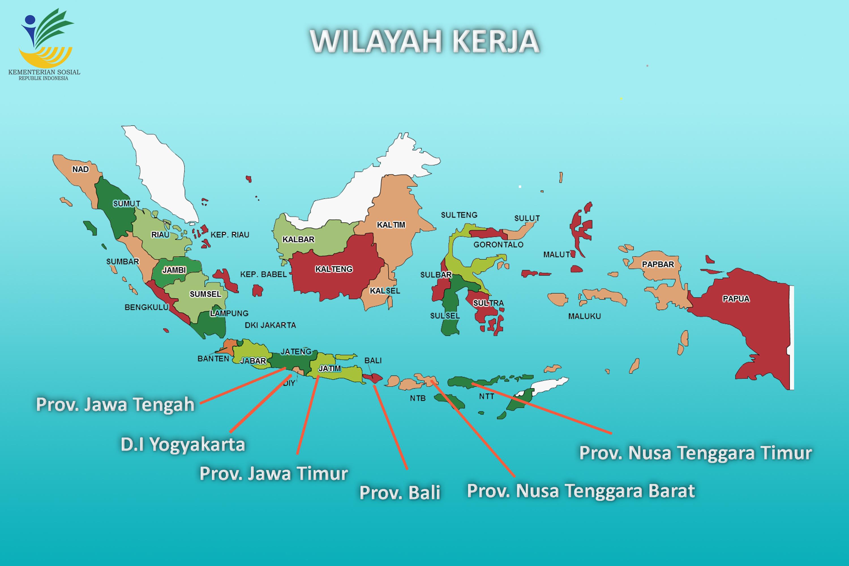MAP WILAYAH KERJA