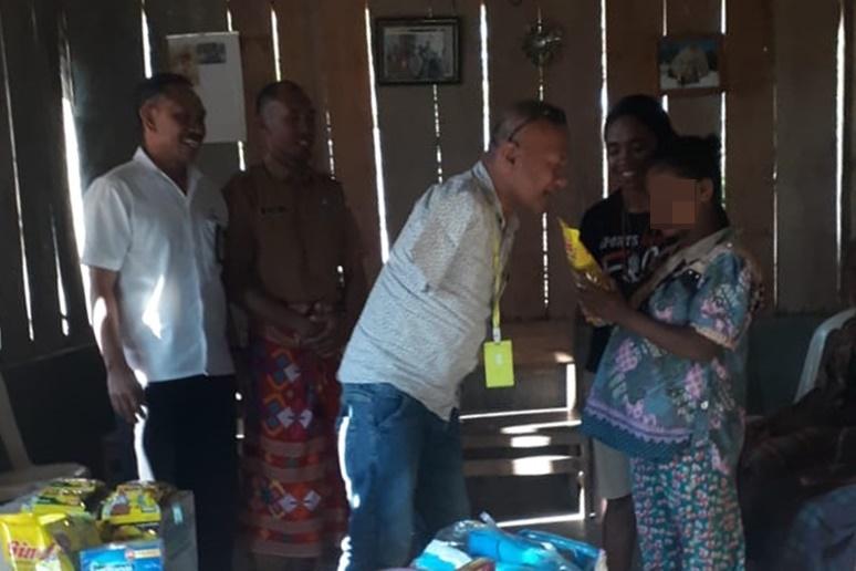 """BRSPDSRW """"Efata"""" Lakukan Respon Kasus di Timor Tengah Selatan"""