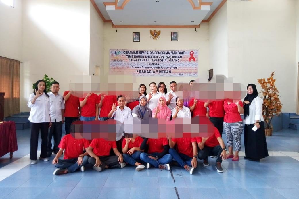 Edukasi Penerima Manfaat TBS 3 Bulan Melalui Ceramah HIV/AIDS