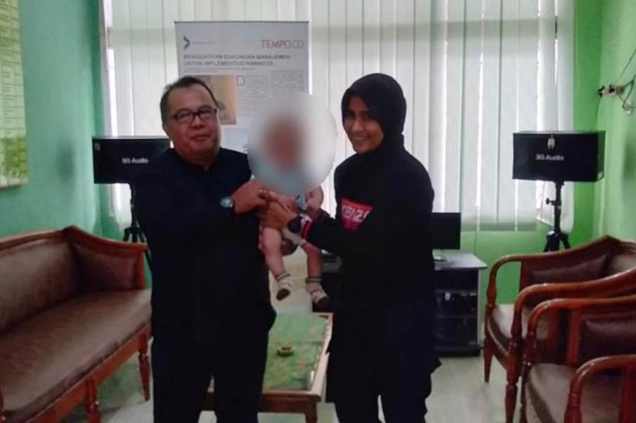 """Sinergi BRSAMPK """"Alyatama"""" dan Dinas Sosial Jambi Tangani AMPK"""