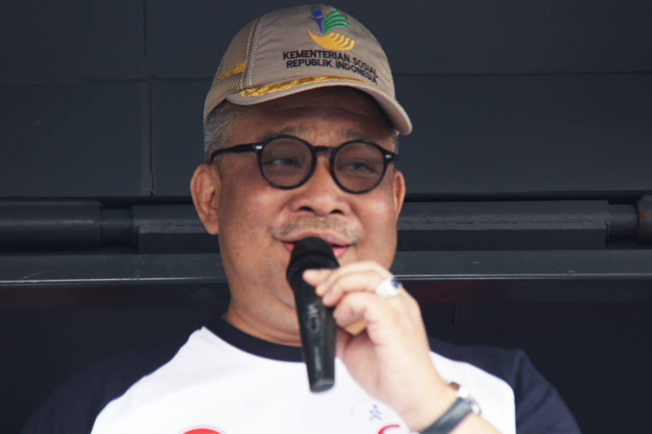 Duta Muda ASEAN Semarakkan CFD Kemensos dan Kemenlu