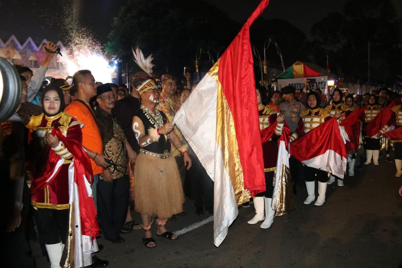 Puncak Pekan Kebudayaan Nasional 2019 dengan Parade Digdaya Nusantara