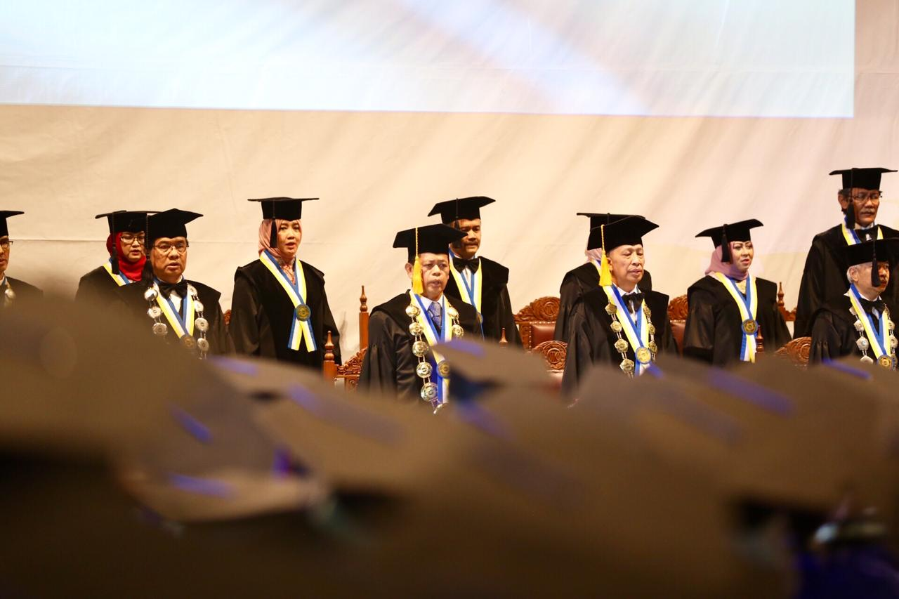 Graduation Ceremony of Bandung Social Welfare Polytechnic Achieve 375 Graduates of Social Workers