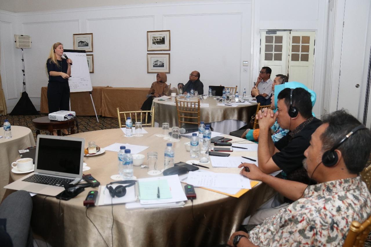 Kemensos dan UNODC Gelar Seminar Pembuatan Program Layanan