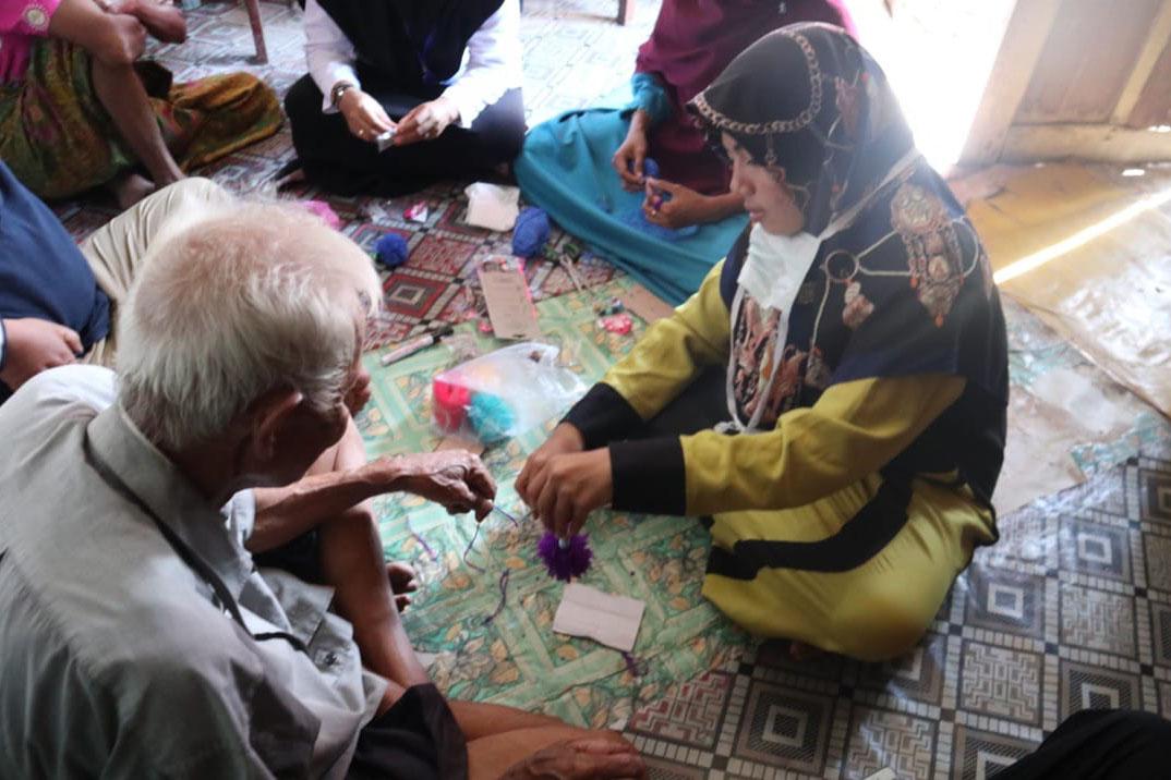 """""""Minaula"""" Elderly Social Rehabilitation Workshop (LRSLU) Conducts Module Trial for The Elderly"""