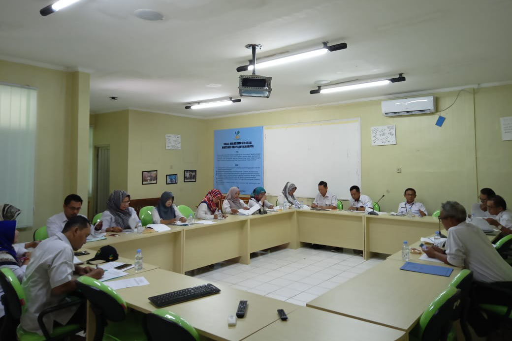 """Mulya Jaya"" Social Rehabilitation Center (BRS) Watunas Held a Case Discussion"
