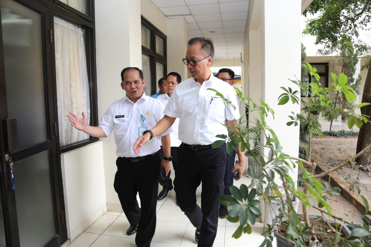 Kunker Menteri Sosial ke Balai Besar Pendidikan dan Pelatihan Kesejahteraan Sosial Regional III Yogyakarta