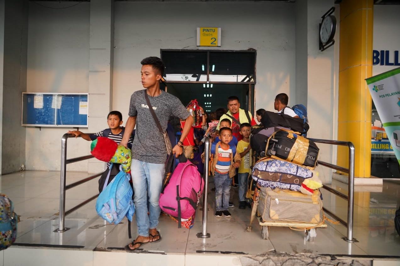 Kemensos Bantu Pemulangan Pengungsi Wamena Asal Sumut