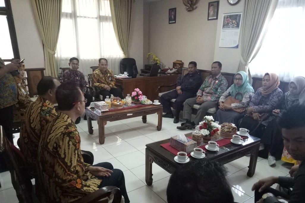 Konsolidasi Program Kesos BBPPKS Yogyakarta dan Komisi IV DPRD Rembang