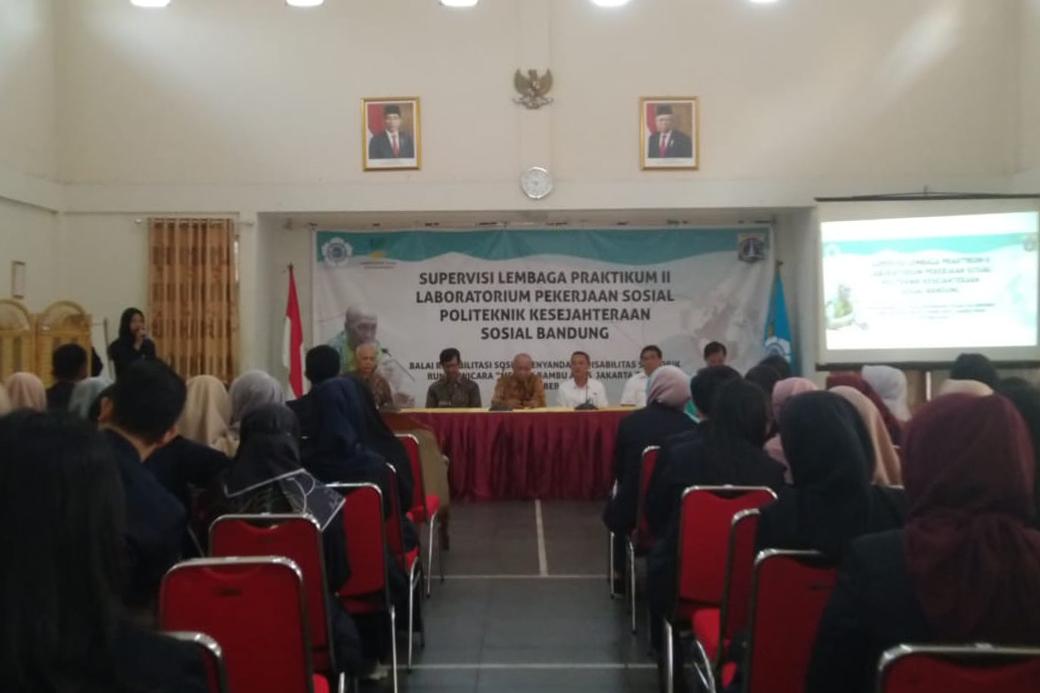 "Terima Direktur Poltekesos Bandung, BRSPDSRW ""Melati"" Sampaikan Testimoni dan Pesan"