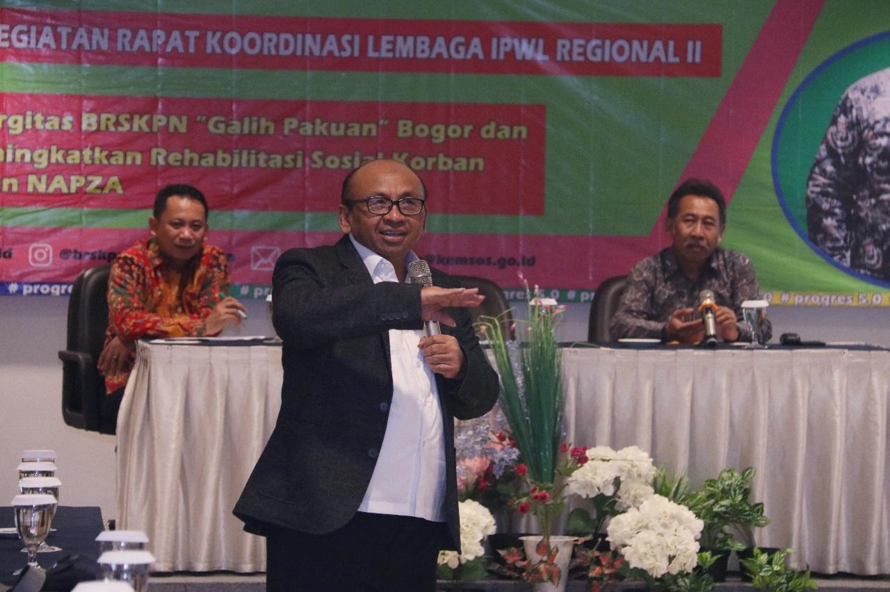 Perkuat Komitmen, Ditjen Rehsos Gelar Rakor Lembaga IPWL Regional II