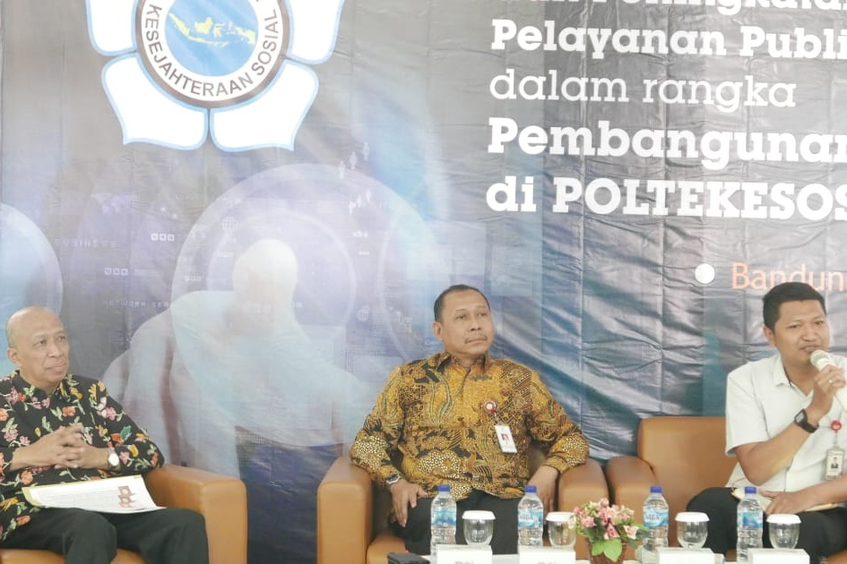 Improving Public Service Quality, Poltekesos Holds Strengthening Activities