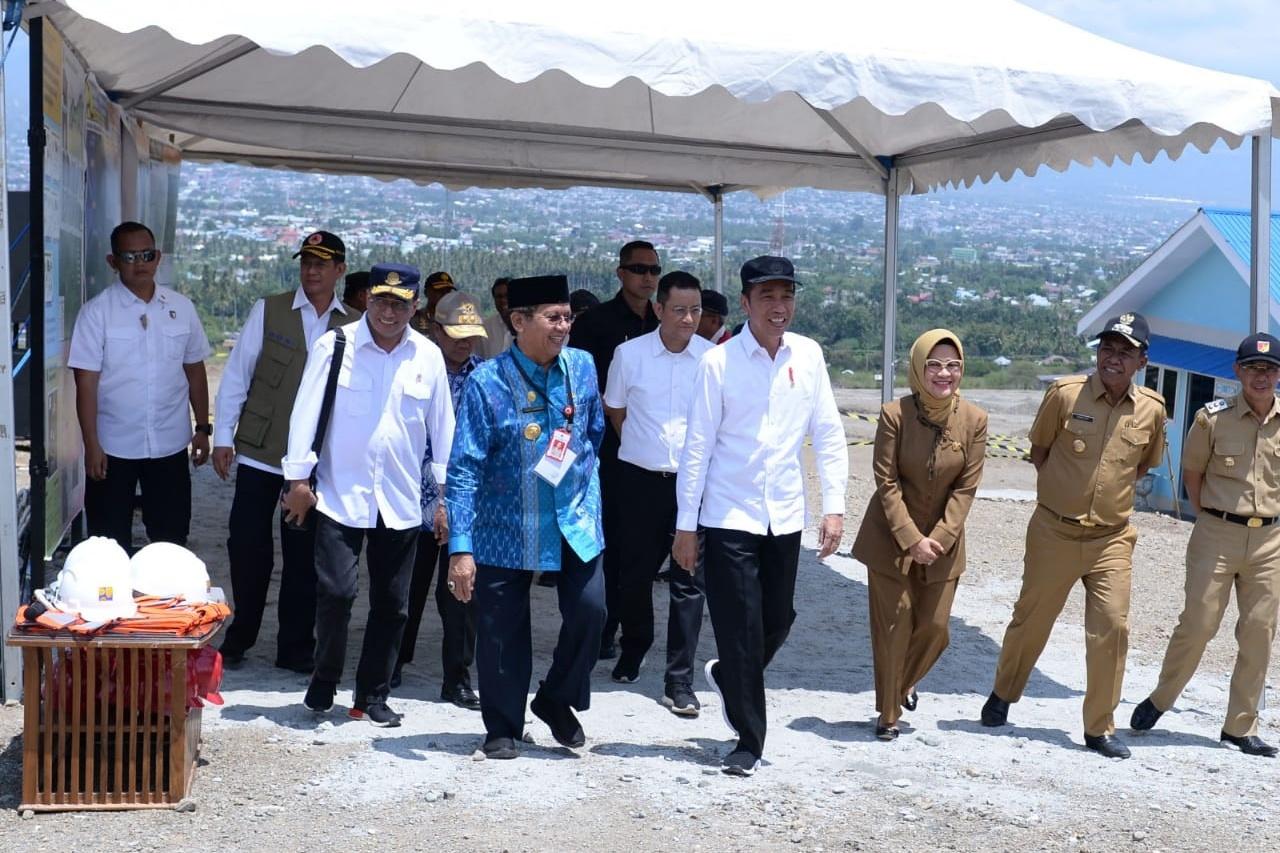 Jelang Kunjungan Presiden, Mensos Periksa Kesiapan Huntap Palu