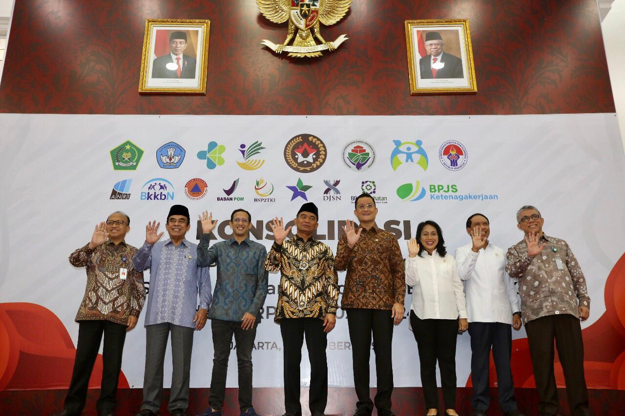 Minister of Social Affairs Attends the Consolidation of Acceleration of Achievement in Kemenko PMK