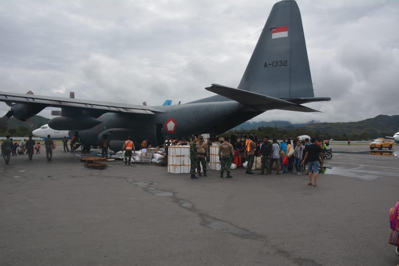 Kemensos Bantu Pemulangan Pengungsi Kembali ke Wamena