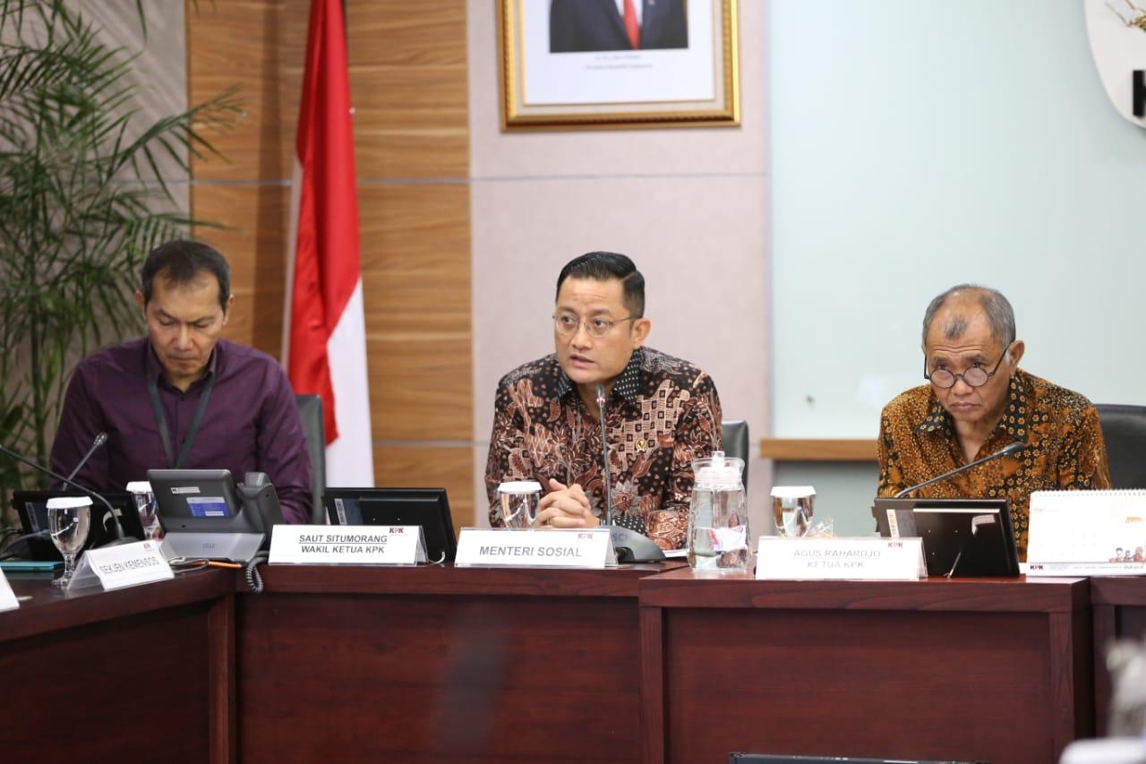 Mensos Lakukan Silaturahmi dengan Pimpinan KPK
