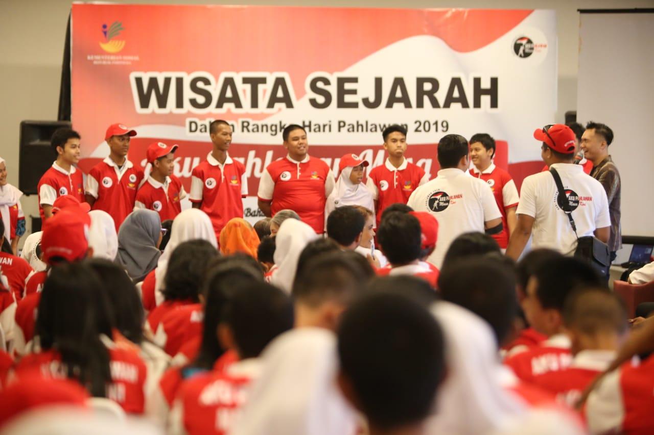 Wisata Sejarah Ajak Pelajar SMA Lebih Mengenal Sejarah Indonesia